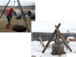 Чтобы правильно сделать стенки шахты, соорудить днище колодца, надо проводить работы согласно инструкции