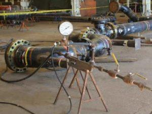 До начала опрессовки трубопровода для воды надо приобрести бланк акта